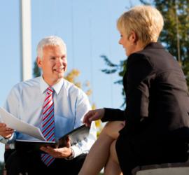 Executive Coaching Couple Outside png